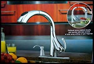 water ridge pull kitchen faucet 205674 touch on