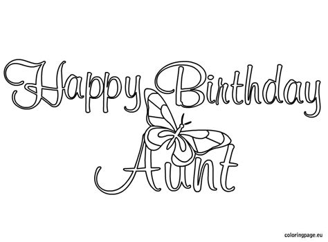i love you aunt coloring pages happy birthday mom coloring pages getcoloringpages com