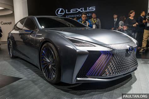 tokyo  lexus ls concept autonomous luxury