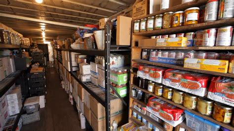 build your food storage stockpile the right way