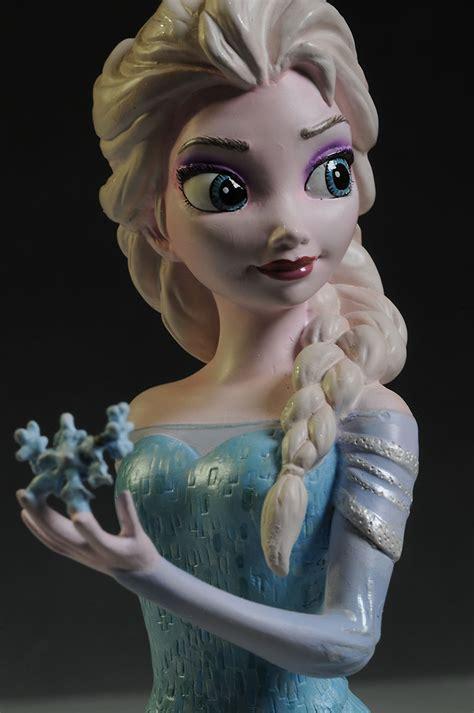 Enesco Grand Jester Frozen Elsa Mini Bust review and photos of frozen elsa mini busts from