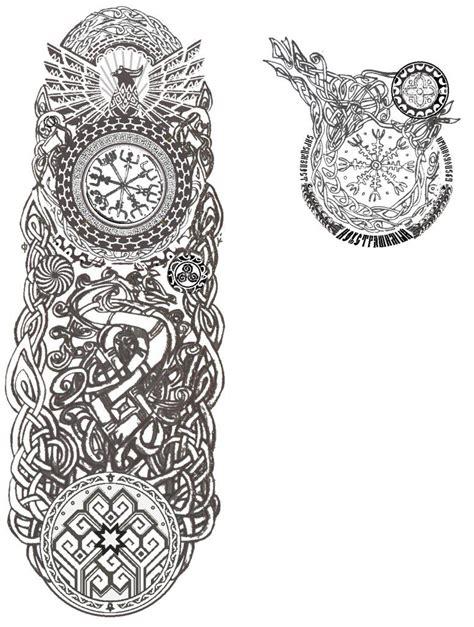 viking art tattoo designs slavic caucasus norse germanic celtic by kara
