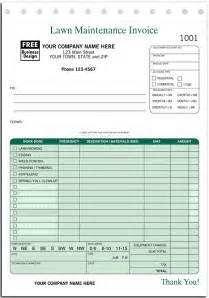 lawn service invoice template invoices free lawn service