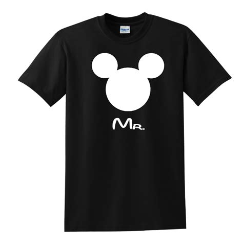Handmade Tshirts - disney family mr mrs custom t shirts black the