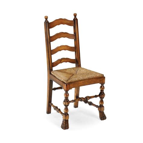 Cheap Ladder Back Chairs by Jonathan Charles 492156 Country Farmhouse Walnut Ladder