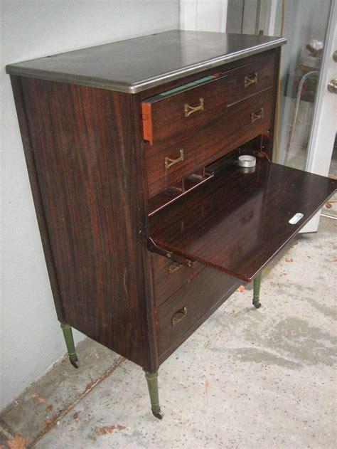 Antique Metal Dresser by Vintage Simmons Steel Dresser Metal Chest Industrial 1940