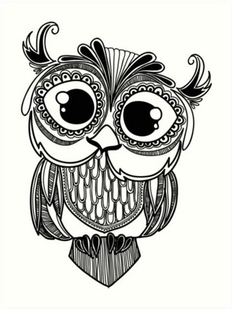 25 ideas hibou dessin dessin hibou dessin chouette des trucs