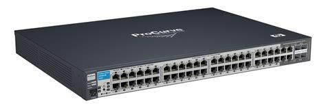 Switch Manageable 48 Port hp j9280a procurve switch 2510g 48 48 port network switch