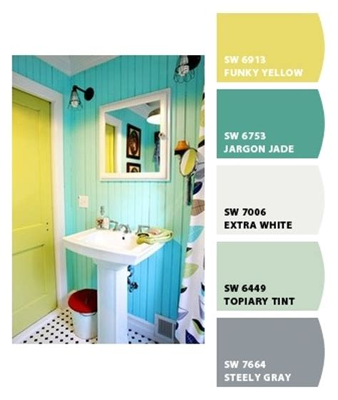 Beach Bathroom Idea Paint Colors From Chip It By Paint Color Schemes For Bathrooms