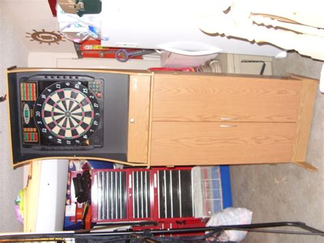 electronic dart board cabinet electronic dart board cabinet accessories home ideas