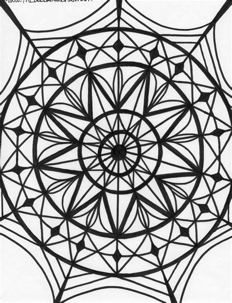 printable coloring pages kaleidoscope kaleidoscope coloring page coloring home