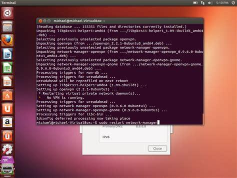 manual ubuntu network configuration how to configure openvpn on ubuntu linux vpn pptp sstp