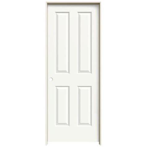 14 X 80 Interior Door by Jeld Wen 28 In X 80 In Molded Smooth 4 Panel Brilliant