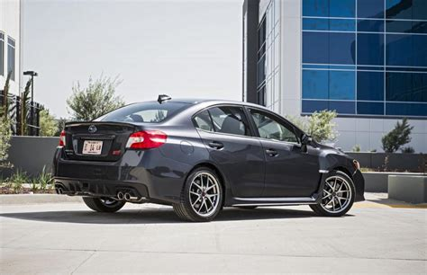 sti subaru 2016 2016 subaru wrx wrx sti revealed new in car tech