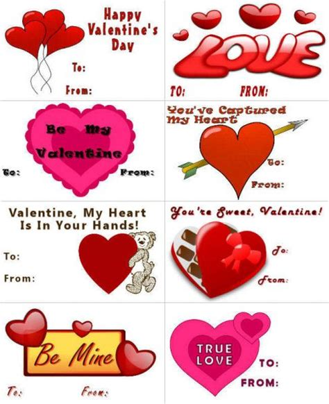 how to make a heart printable valentines Free Printable Valentines Day Cards Templates