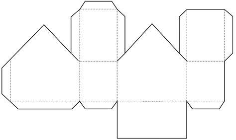 Printable House Template For