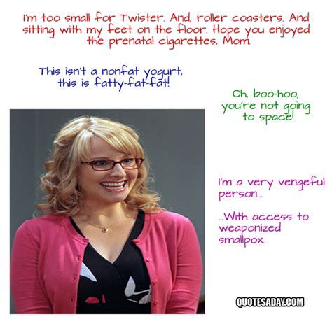 Bernadette Meme - big bang theory quotes quotesgram