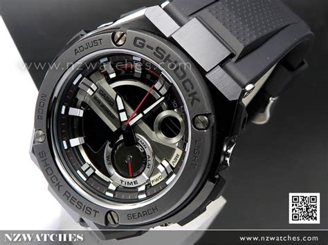 Casio G Shock Gst S110g 1a buy casio g shock g steel analog digital solar sport
