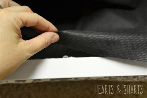 fabric under couch adding a dust cover to upholstery projects hearts sharts