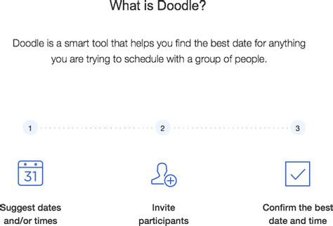 how to add participants on doodle make a poll doodle s content pages