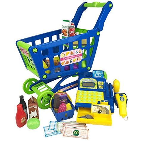 kid shopping cart boley grocery cart educational shopping cart for