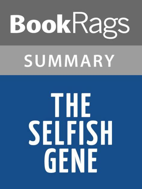 libro the selfish gene 40th the selfish gene by richard dawkins l summary study guide by bookrags nook book ebook