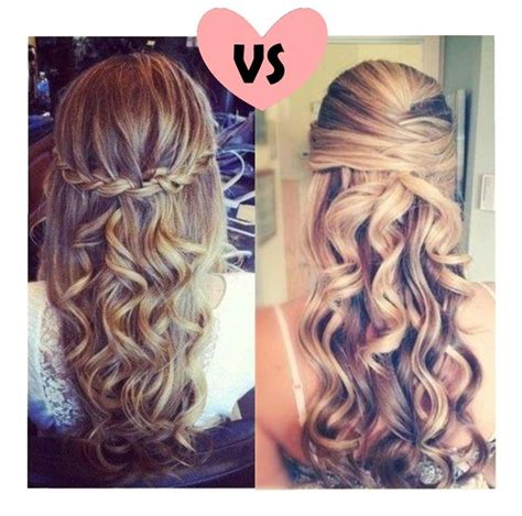hairstyles left down love the left hairstyle super easy and cute pin and curl