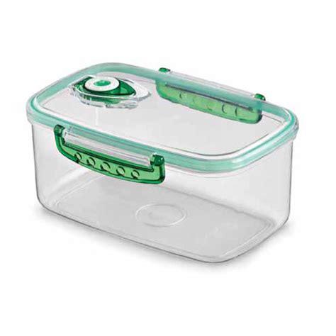 vacuum storage container freshvac pro vacuum food storage container 7 6 c in