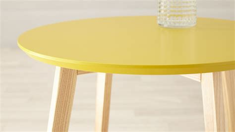 Yellow Side Table Uk Yellow And Oak Side Table Modern Side Table Uk Delivery