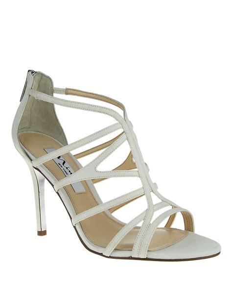 high sandals marisun high heel sandals in white lyst