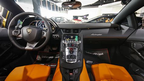 Eye Catching Brown Lamborghini Aventador Roadster For Sale