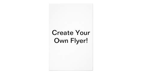 Design Your Own Leaflet | create your own 5 5 quot x 8 5 quot flyer zazzle