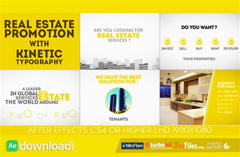 after effects free promo templates housing archives free after effects template videohive