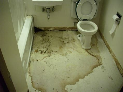 bathroom water damage restoration services