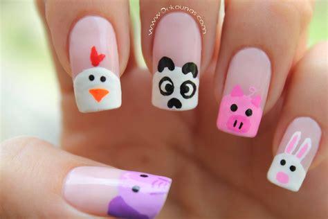 decoraci 243 n de u 241 as animalitos animals nail