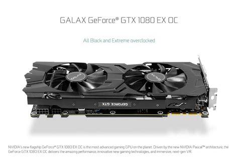 Vga Card Gtx 1080 vga galax gtx 1080 exoc 8gd5x