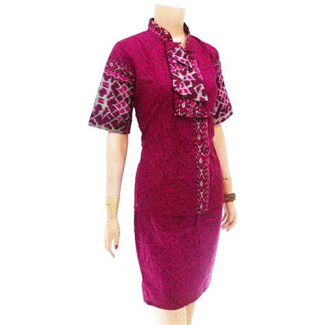Sgx Jual Setelan Murah Grosir Setelan Murah Aliena Yow baju atasan wanita batik biru mitra bisnis lanjar