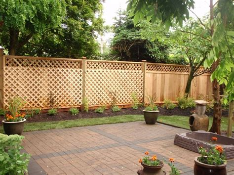 privacy backyard ideas 25 best ideas about cheap privacy fence on pinterest