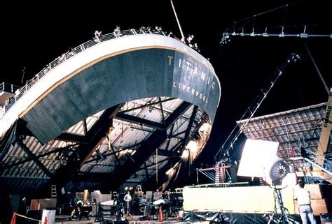 film titanic behind the scenes behind the scenes titanic photo 8654029 fanpop