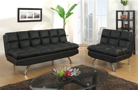Black Futon Sofa Bed Albert Black Leather Sofa Bed Futon