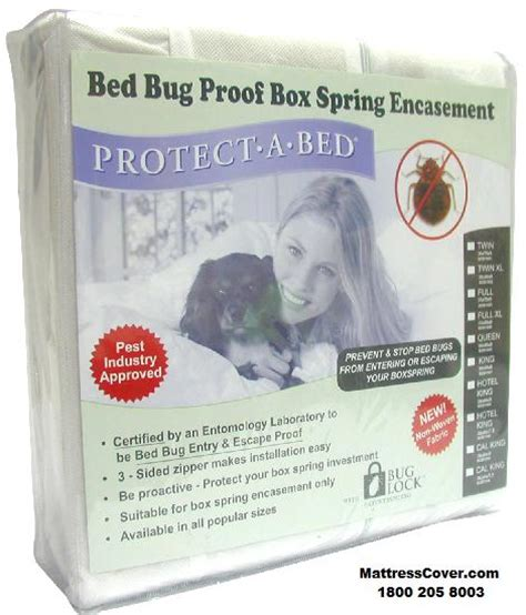box spring encasement covers  bed bug prevention