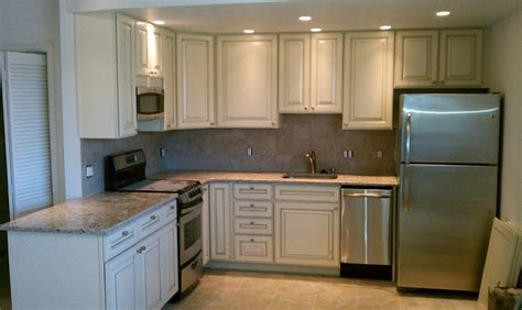 Kitchen Cabinets Boulder Frasier In Boulder Co After Cabinets Armstrong In The Waverly Style With A Vanilla