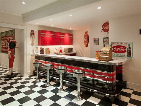 dinner room decoration vintage coca cola decor interior