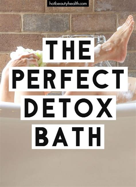 10 Day Detox Bath Ingredients by 6 Ways To Craft The Detox Bath Bentonite