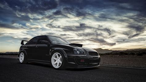 subaru cars black wallpaper subaru impreza wrx sti black car 2560x1440 qhd