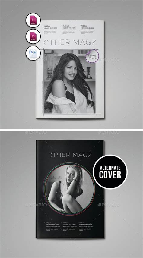 44 Stunning Magazine Templates For Indesign Photoshop | 44 stunning magazine templates for indesign photoshop