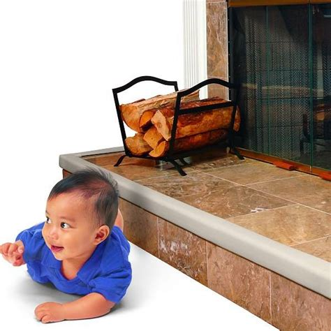 Fireplace Edge Guard Baby by Baby Toddler Safety Cushioned Fireplace Hearth Table