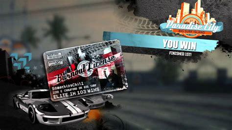Kaos Top Racig Racr From City To City burnout paradise city best racing