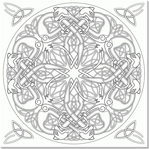 free coloring pages mandalas celtic free celtic mandala coloring pages coloring home