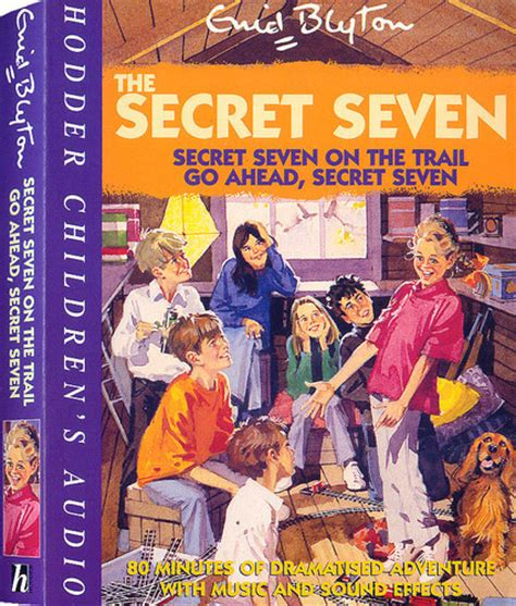 Go Ahead Secret Seven By Enid Blyton Paperback secret seven on the trail go ahead secret seven h 322322 by enid blyton